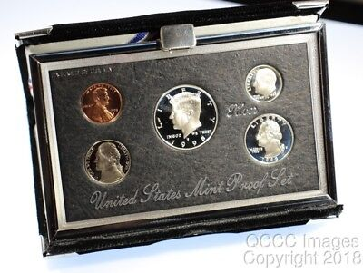 1998 Premier Proof Set / Original Mint Packaging / No Stickers or Writing