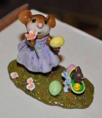 Wee Forest Folk M-321a POPPY'S EASTER, Ltd. Edition, Retired