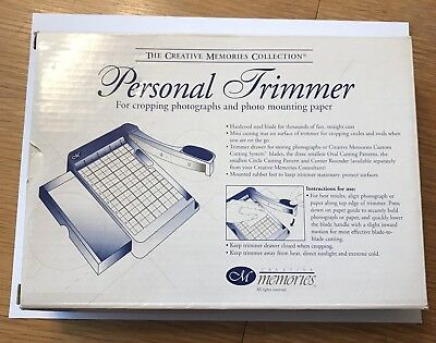 Creative Memories Personal Trimmer Paper Cutter