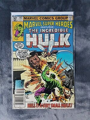 The Incredible Hulk Issue #102 October 1981