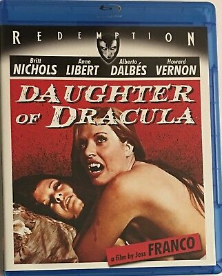 Daughter of Dracula (Blu-Ray 1972) Redemption Horror