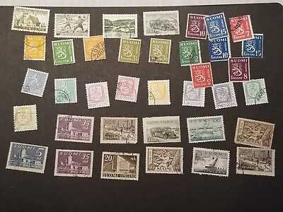 Finland, Suomi small lot of stamps