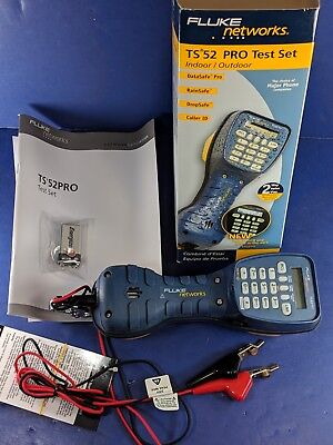 New Fluke TS52 Pro Test Set, ABN, Original Box