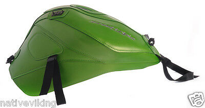 BAGSTER Triumph STREET TRIPLE 675 R 2013 > 2014 TANK PROTECTOR COVER Green 1655D