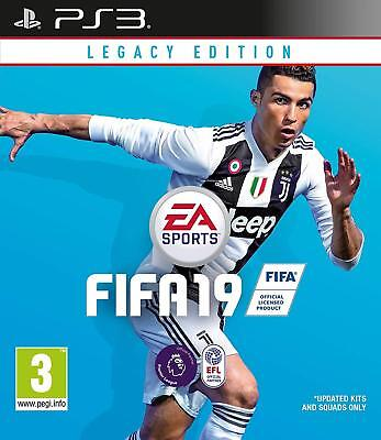 NEW FIFA 19 Legacy Edition Ps3 Playstation 3 Game 1St Class FAST & FREE Delivery