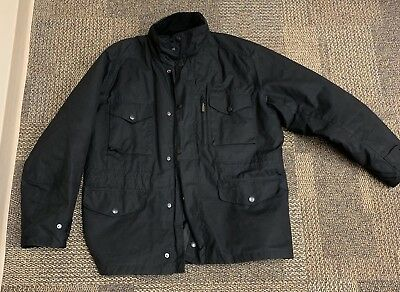 Barbour Sapper Jacket Black XL