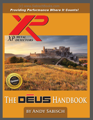 XP Deus HandBook Revised Edition...Signed by the Author with Bonus