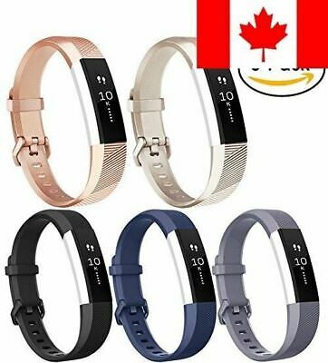 For Fitbit Alta HR Bands (5 PACK), Vancle Classic Accessory Band Replacement ...
