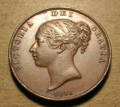 Great Britain 1841 Penny XF