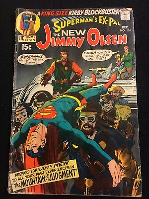 jimmy olsen 134 1st appearance darkseid Low Grade Key
