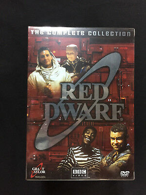 Red Dwarf Complete Collection (DVD, 2006, 18-Disc Set)