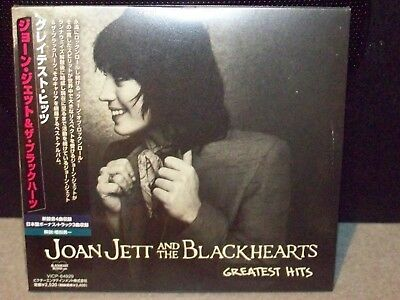 Joan Jett And The Blackhearts Greatest Hits Japanese Import Cd
