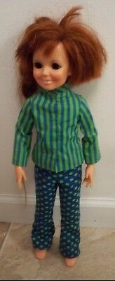 1969 VINTAGE IDEAL CRISSY Velvets Cousin FASHIONS DOLL  GROWING HAIR ORIGINAL