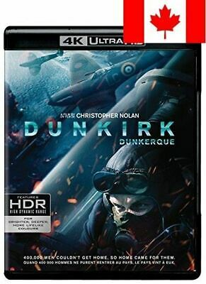 Dunkirk (Blu-ray + Digital HD + 4K Ultra HD) (Bilingual)