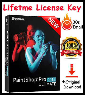 Corel PaintShop Pro 2019 Ultimate🔑License Key🔑Delivery 30s📨+Full Download