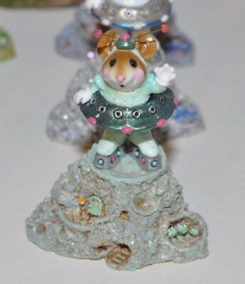 Wee Forest Folk Limited Edition Greetings! 2003 - Green Suit - Batch Noah's