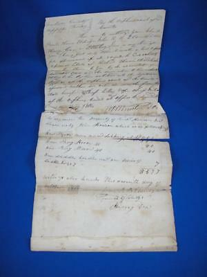 1816 Mississippi Territory Estate Appraisal with 3 Slaves Listed