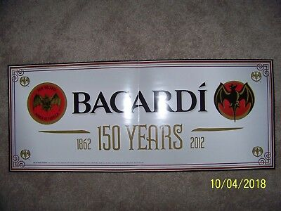 Bacardi 150 Years Banner/Poster