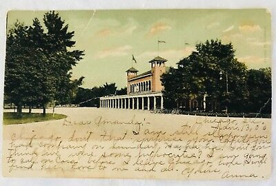 Antique UDB Teich Postcard - Washington Park Refectory, Chicago - 1905