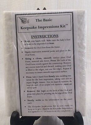 Memories Unlimited Basic New Keepsake Impressions Kit Instructions