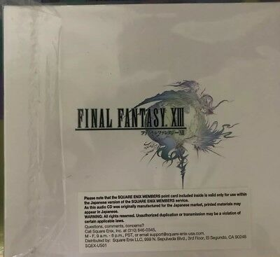 Final Fantasy XII Soundtrack GREAT CONDITION!