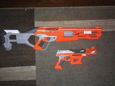 NERF N-Strike Elite Accustrike ALPHAHAWK & FALCONFIRE