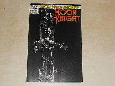 Marvel Comics MOON KNIGHT #25 FIRST APPEARANCE OF BLACK SPECTRE