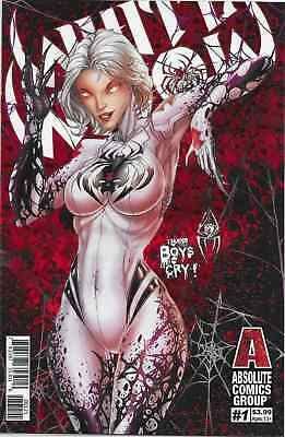 White Widow 1 Red Foil Variant Giant Entertainment Jamie Tyndall Nm Sold Out