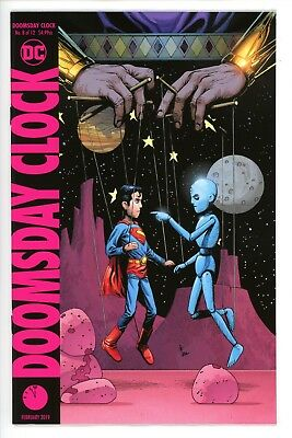 Doomsday Clock #8      * Variant *    Gary Frank     Near Mint  NM