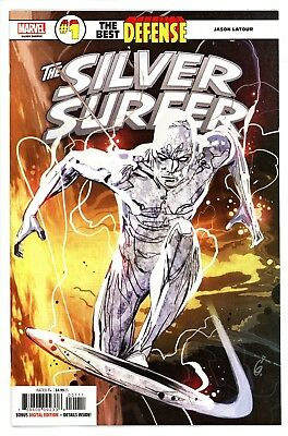 The Best Defense  Silver Surfer  #1  * First Print *    Near Mint  NM