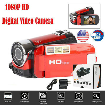 HD 1080P 16MP 16X ZOOM Action Cam Digital Camera Video Camera Sport DV Camcorder