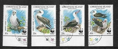 1990 WWF Abbotts Booby Set of 4 Complete Fine Used as Per Scan