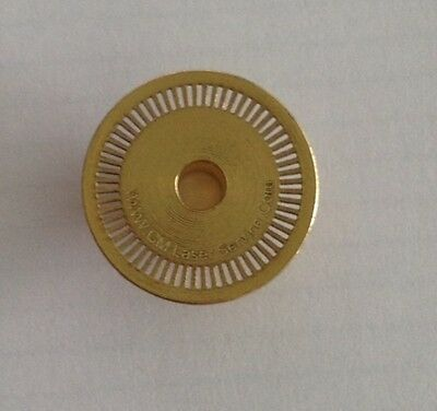 60 Slot Optical Encoder (Brass) for Old Logitech G25 & G27 - *NEW*