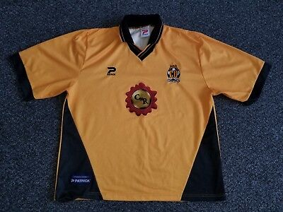 Cambridge United Home Football Shirt, 1998-1999, XL 50/52