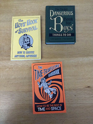 The Dangerous Book for Boys, Time-Travellers Handbook, Boys Book of Survival