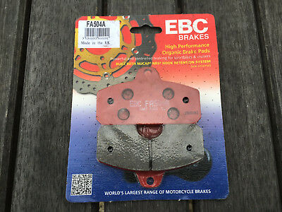Kart EBC Righetti Ridolfi Replacement Red Hard Brake Pads FA504A