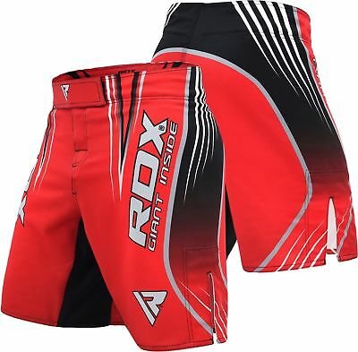 RDX MMA Training shorts grappling Mens kickboxing Fighting UFC Cage Gym Wear