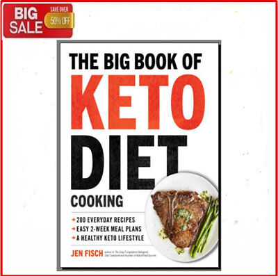 The Big Book Of Keto Diet Cooking - Eb00k/PDF -  FAST Delivery