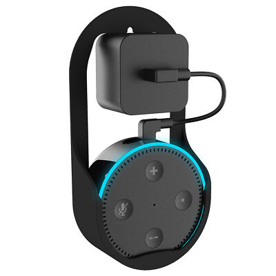 Echo Dot Holder Outlet Wall Mount for Alexa/Amazon Echo Dot 2nd Generation