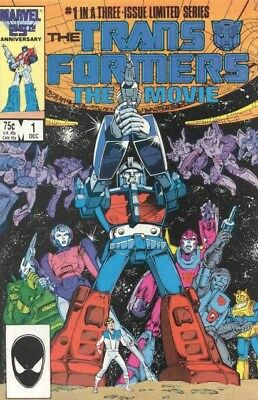 Transformers The Movie (1986) #   1-3 (8.0-VF) COMPLETE SET
