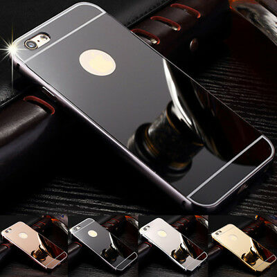 NEW Luxury Aluminum Ultra-thin Mirror Metal Case Cover For IPhone 6/6s/7 Pus