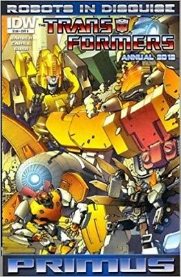 Transformers Robots in Disguise (2012) ANNUAL #   1 COVER B (9.4-NM)