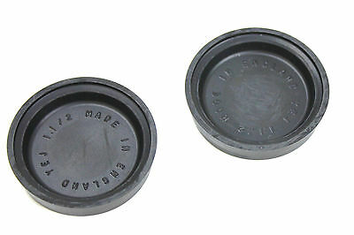 "A Pair Of Uk Made Brake Wheel Cylinder Cup Seals 1 1/2"" Bore Size"