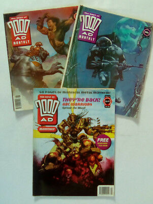 The Best of 2000 AD Monthly Comics Job Lot of 3 Numbers  80,  81,  and 103