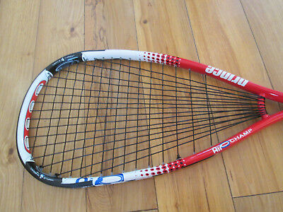 Prince Air O Champ Squash Racket & Headcover Free Grip