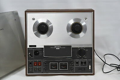 Sony TC-366 3 Head Reel to Reel Player/Recorder - SERVICED