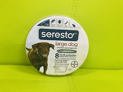 Bayer Seresto Flea and Tick Collar for Large Dogs - 8 Month Protection
