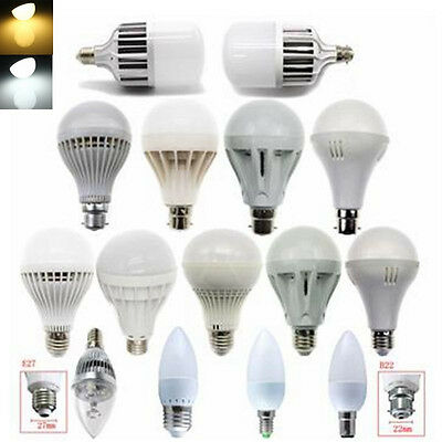 E27 3W 5W 7W 9W 12W 15W 5730 2835 SMD LED Light Globe Spot Energy saving lamp