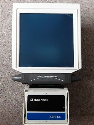 Microfiche reader Bell and Howell ABR 55