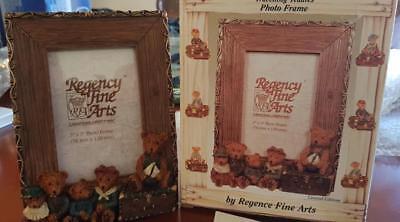 Limited Edition Collectible Teddy Bear Photo Frame 2130 of 4500 Regency Fine Art